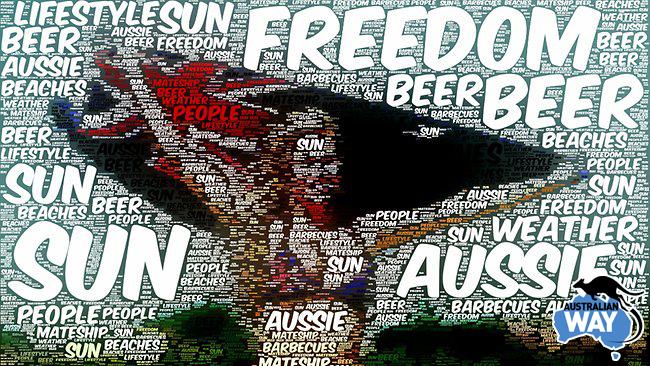 australian day. estudia en australia.australianway