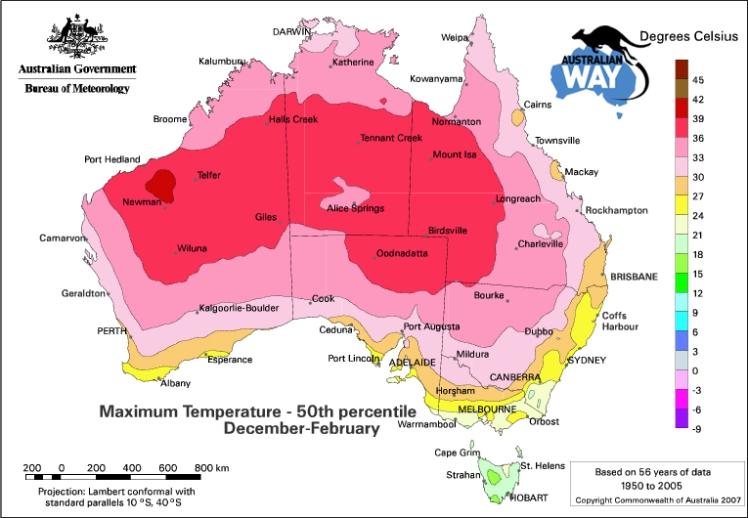 el tiempo en australia.teperaturas maximas verano australia. estudia en australia. australianway.es. estudiaenaustralia.es.estudiar en australia