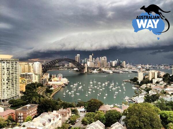 la gran tormenta en Sydney. estudiar y trabajar en Australia. estudia en australia. australianway.es, estudiaenaustralia.es, sydney