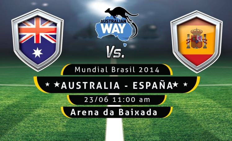 AUSTRALIA ESPAÑA futbol mundia, estudiar en australia, estudia en australia, australianway.es, estudiaenaustralia.es