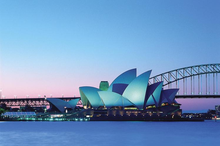 Sydney-Dusk-Australia